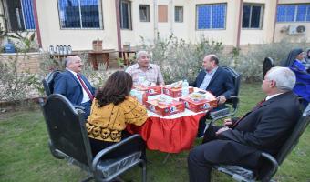 بالصور .. حفل الإفطار السنوى بنادى أعضاء هيئة التدريس
