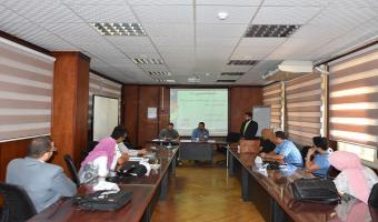 مركز تنمية قدرات أعضاء هيئة التدريس يواصل دورته التدريبية بعنوان