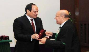 جامعة مدينة السادات تتمنى الشفاء العاجل للدكتور محمود إمام نصر مؤسس معهد الهندسة الوراثية