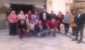 سفر فريق فريق كورال الجامعة إلى دار المدرعات بالقاهرة للمشاركة فى مسابقة إبداع 5