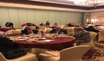 رئيس الجامعة يلبي دعوة الملحقية الثقافية للجمهورية الليبيه ويجتمع مع السفير الليبي