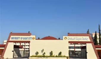 جامعة مدينة السادات تحصل على المستوى الثالث بالدورة الإلكترونية الأولى للجامعات المصرية