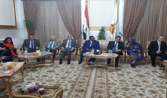 جامعة مدينة السادات توقع عدد من الإتفاقيات مع بعض من الجامعات السودانية