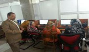 دورة تدريبية عن برنامج التحليل الإحصائى SPSS بجامعة مدينة السادات