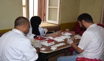 جامعة مدينة السادات تنظم قافلة طبية مجانية بمركز أشمون