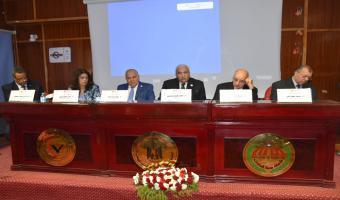 إنطلاق فعاليات المؤتمر العلمى العاشر (الدولى الثالث) بكلية الطب البيطرى جامعة مدينة السادات