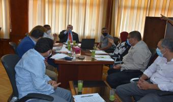 مجلس شئون التعليم والطلاب يعتمد خطة الجامعة لإجراء إمتحانات السنوات النهائية