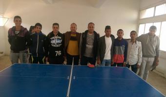 حصول  فريق كلية التربية الرياضية بنين على المركز الأول فى تنس الطاولة بمهرجان الدورى الرياضى