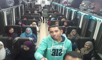 سفر الفوج الأول من طلاب جامعة مدينة السادات إلى الأقصر وأسوان لزيارة المعالم السياحية