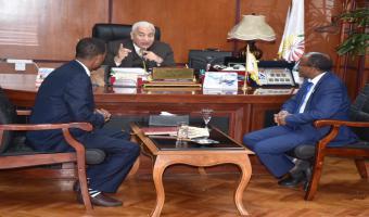 أثيوبيا فى احضان جامعه مدينه السادات فى ظل رئاسه مصر للاتحاد الافريقى