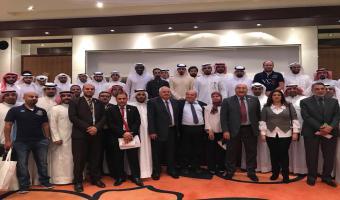 لقاء خاص في ختام معرض اخبار اليوم للجامعات بدولة الكويت