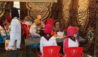 فرق الجوالة تنفذ الملصق الفني لمؤتمر شرم الشيخ العالمي بالمنوفية