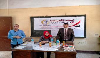 المشروعات التنموية لقطاع خدمة المجتمع تصل قرية جزيرة الحجر