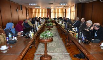 اليوم: مجلس الجامعة يناقش موضوعات هامة باجتماعه الدوري