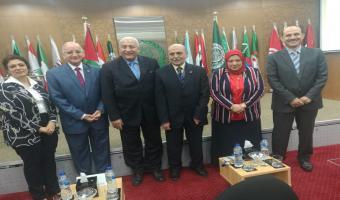 جامعة مدينة السادات تشارك بالملتقى العربي الأول للقيادات الجامعية بعنوان