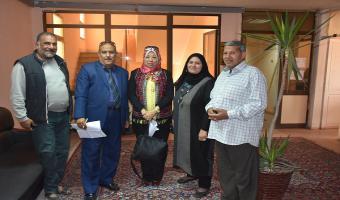 تفعيل مبادرة جامعة مدينة السادات خالية من التدخين والمخلفات