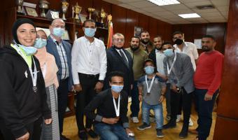 تكريم الفائزين من ذوي الهمم المشاركين في بطولة