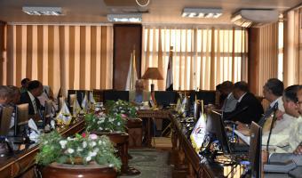 اليوم اجتماع مجلس شئون خدمة المجتمع وتنمية البيئة لبحث جدول اعماله