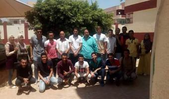 منتخب جوالة جامعة مدينة السادات يجتمع إستعدادآ لخوض فاعليات اسبوع شباب الجامعات بجامعة المنوفية