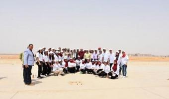 زيارة ميدانية لطلاب جامعة مدينة السادات إلى العاصمة الإدارية الجديدة