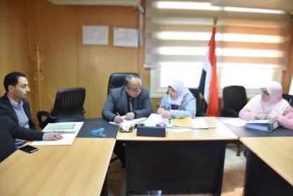 فريق المراجعة الخارجية للشركة المانحة لشهادة ISO 9001:2015 يبدأ أعماله بالجامعة