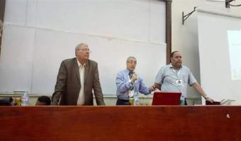 بدء مسابقات دوري المعلومات بالنشاط الثقافي بأسبوع شباب الجامعات المصرية