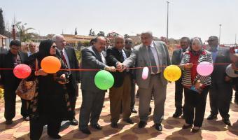 بالصور : إفتتاح معرض المشغولات البدوية بنادى أعضاء هيئة التدريس بالجامعة