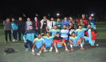 بلح يقود منتخب الجامعة لكرة القدم للصعود إلى الدور قبل النهائى بأسبوع شباب الجامعات بكفر الشيخ