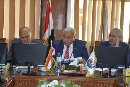 الاجتماع الأول لمجلس جمعية إدارات ضمان الجودة باتحاد الجامعات العربية