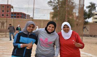 حصول الطالبة ريهام محمد فتح الله على المركز الأول