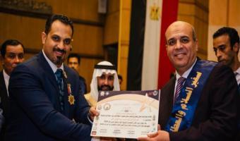 """""""الوطني للتعليم"""" يكرم الدكتور وجيه نافع لاختياره ضمن ١٠٠ شخصية عربية مؤثرة"""