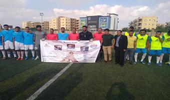 منتخب الجامعة لكرة القدم يحقق فوزه الأول على نظيره جامعة كفرالشيخ بدورة الشهيد رفاعى ال46