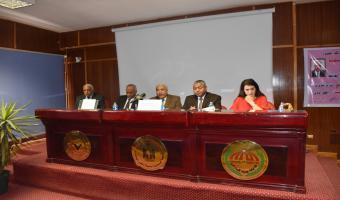 خدمة المجتمع تقيم ندوة بعنوان الوضع الراهن بمصر والمنطقة
