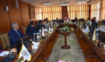 جامعة مدينة السادات مقرا لجمعية ضمان الجودة باتحاد الجامعات العربية