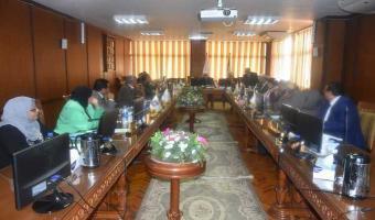 الموافقة على عقد إتفاقية بين معهد الدراسات والبحوث البيئية وجامعة shiheze بالصين فى مجال التكنولوجيا الزراعية