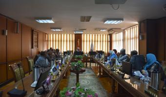 إجتماع مجلس شئون خدمة المجتمع وتنمية البيئة لبحث جدول أعماله