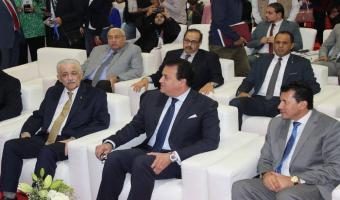 جامعة مدينة السادات تشارك في معرض القاهرة الدولي السادس للإبتكار 2019 .