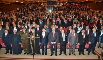 رئيس جامعة مدينة السادات يشارك في احتفال جامعة الاسكندرية باليوبيل الماسي