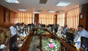 إنعقاد لجنة شئون العاملين بجامعة مدينة السادات
