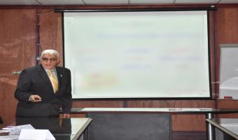 مركز تنمية قدرات أعضاء هيئة التدريس يواصل دورته التدريبية فى