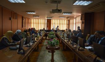 إنعقاد مجلس جامعة  مدينة السادات  بحضور وزير التعليم العالي الاسبق