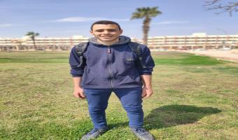 صعود الطالب علاء محمود السحيمى إلى التصفيات النهائية للمشروع الوطنى للقراءة
