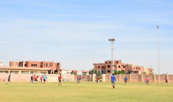 فريق القدم بكلية الطب البيطرى يفوز على كلية التربية الرياضية 7/2 ويتصدر المجموعة الأولى بمهرجان الدورى الرياضى