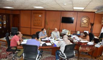 إجتماع الجلسة الرابعة للجنة التصنيف الدولى بالجامعة