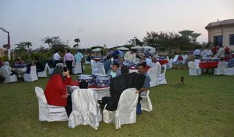 بالصور .. حفل إفطار جماعى بنادى أعضاء هيئة التدريس بمناسبة حلول شهر رمضان المبارك