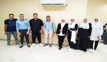 مشاركة جامعة مدينة السادات في برنامج