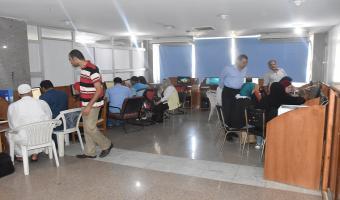 إقبال كثيف فى أولى أيام تنسيق المرحلة الثانية بجامعة مدينة السادات