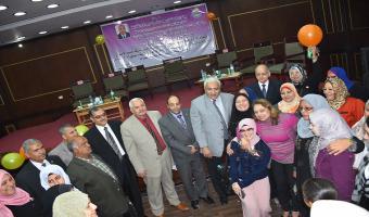 بالصور .. إحتفال جامعة مدينة السادات بعيد الأم وتكريم الأم المثالية