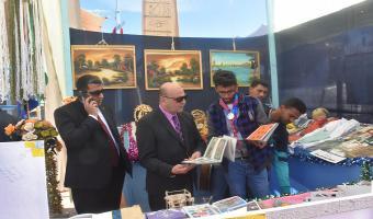 نائب رئيس الجامعة يتفقد أرض المخيم الكشفى لجوالى وجوالات جامعة مدينة السادات