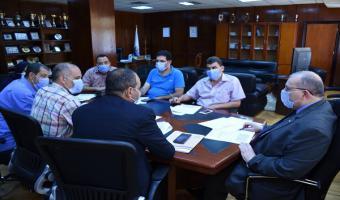 إنعقاد إجتماع اللجنة العليا للإشراف على المدن الجامعية